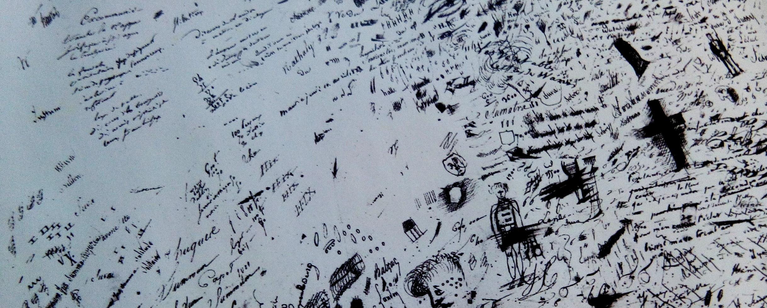 Manuscrit de Balzac