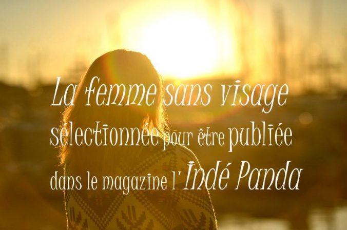 La femme sans visage sélectionnée par l'Indé Panda