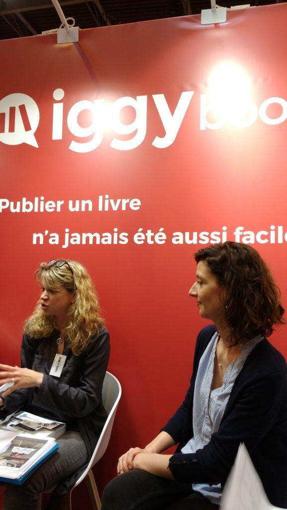 Livre Paris 2017 - masterclass iggybook