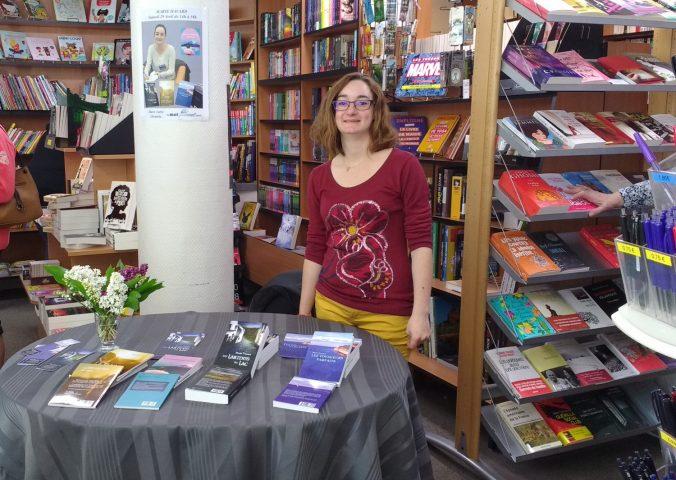 dédicace marie havard gournay en bray avril 2017