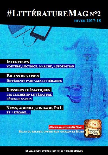 Littérature Mag numéro 2 - hiver 2017-2018