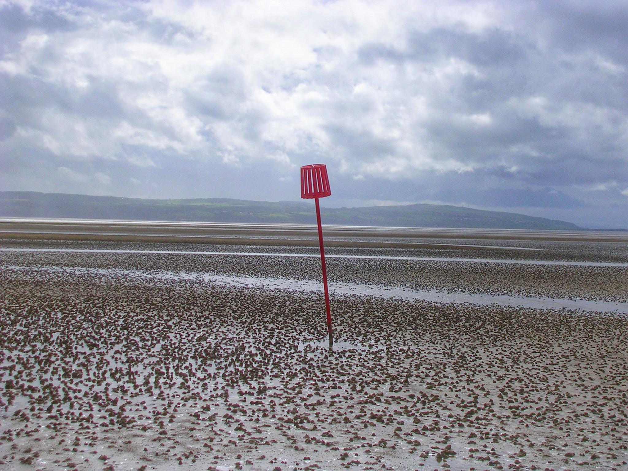 marée basse Angleterre