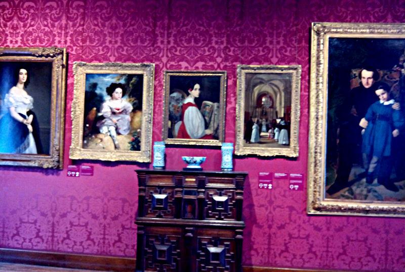 Portraits de sa femme, sa fille, son fils et lui-même