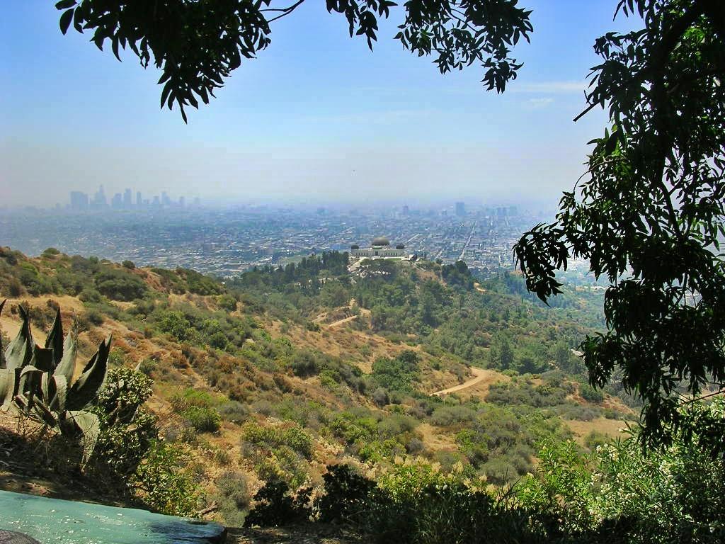 Observatoire Griffith et vue sur Los Angeles