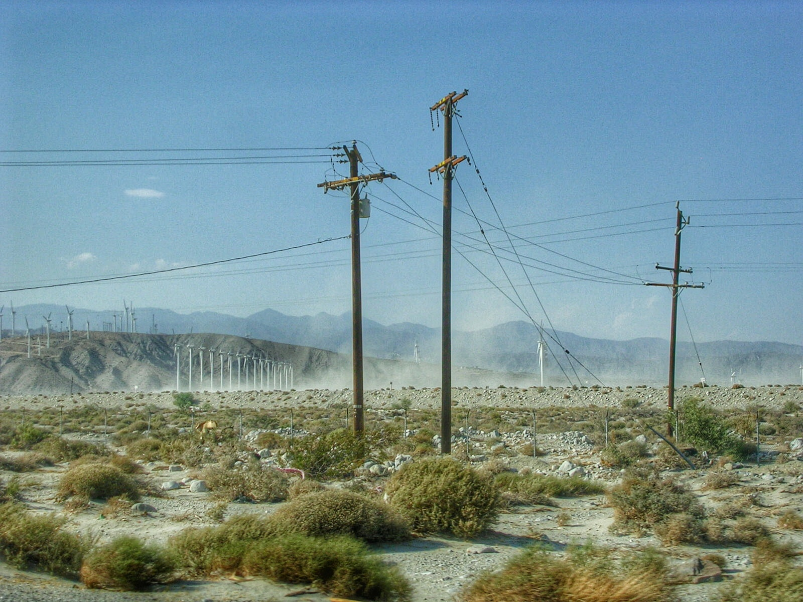 Désert aux alentours de Palm Springs