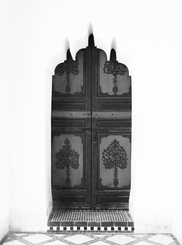 Porte palais de la bahia Marrakech marie havard