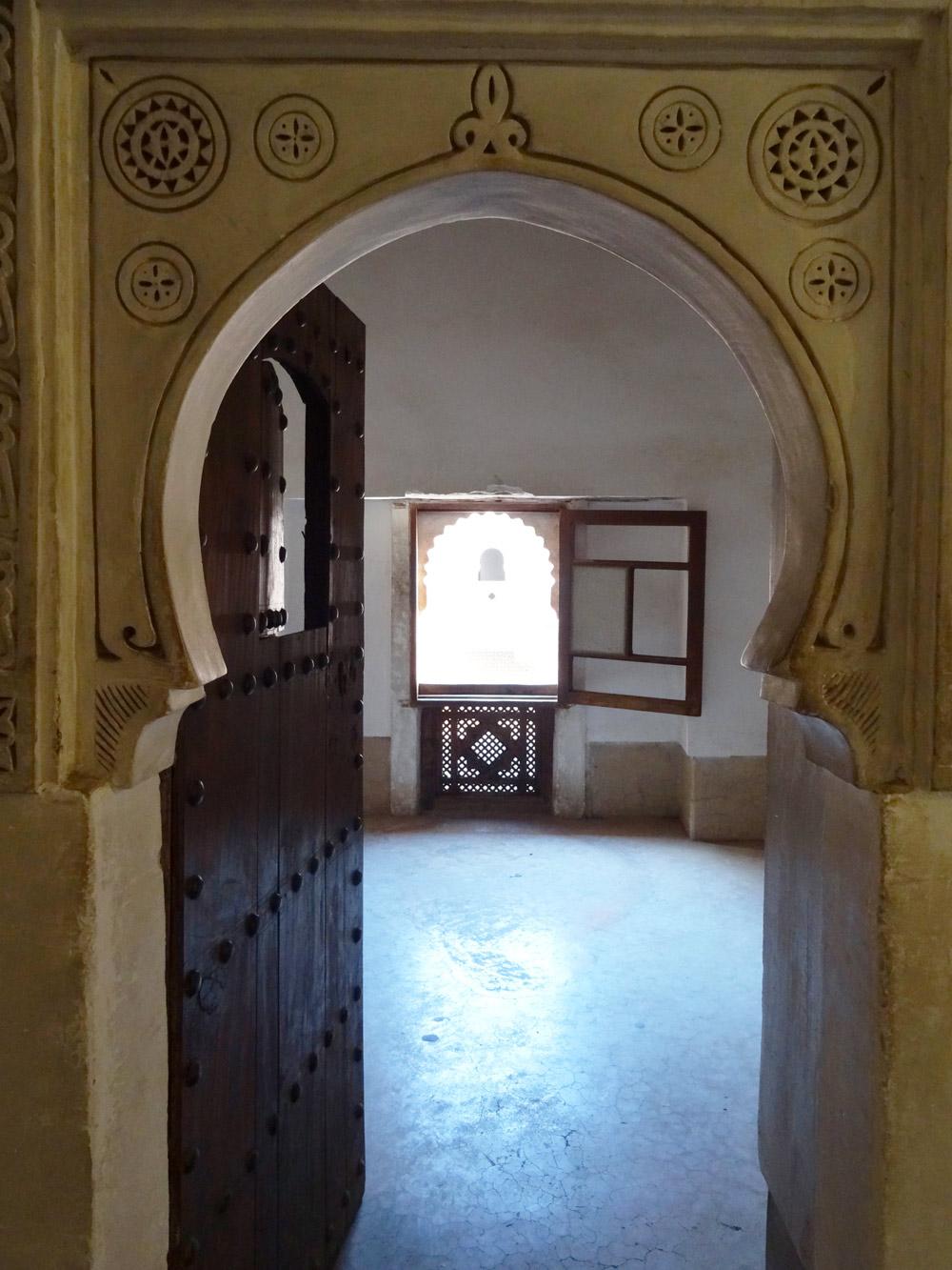 Porte Marrakech ecole coranique - credit Marie Havard