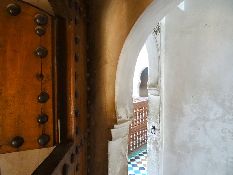porte marrakech école coranique marie havard