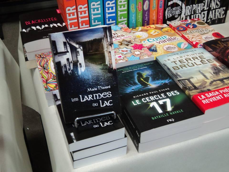 Salon du livre de Ferrières - librairie le mot passant.com