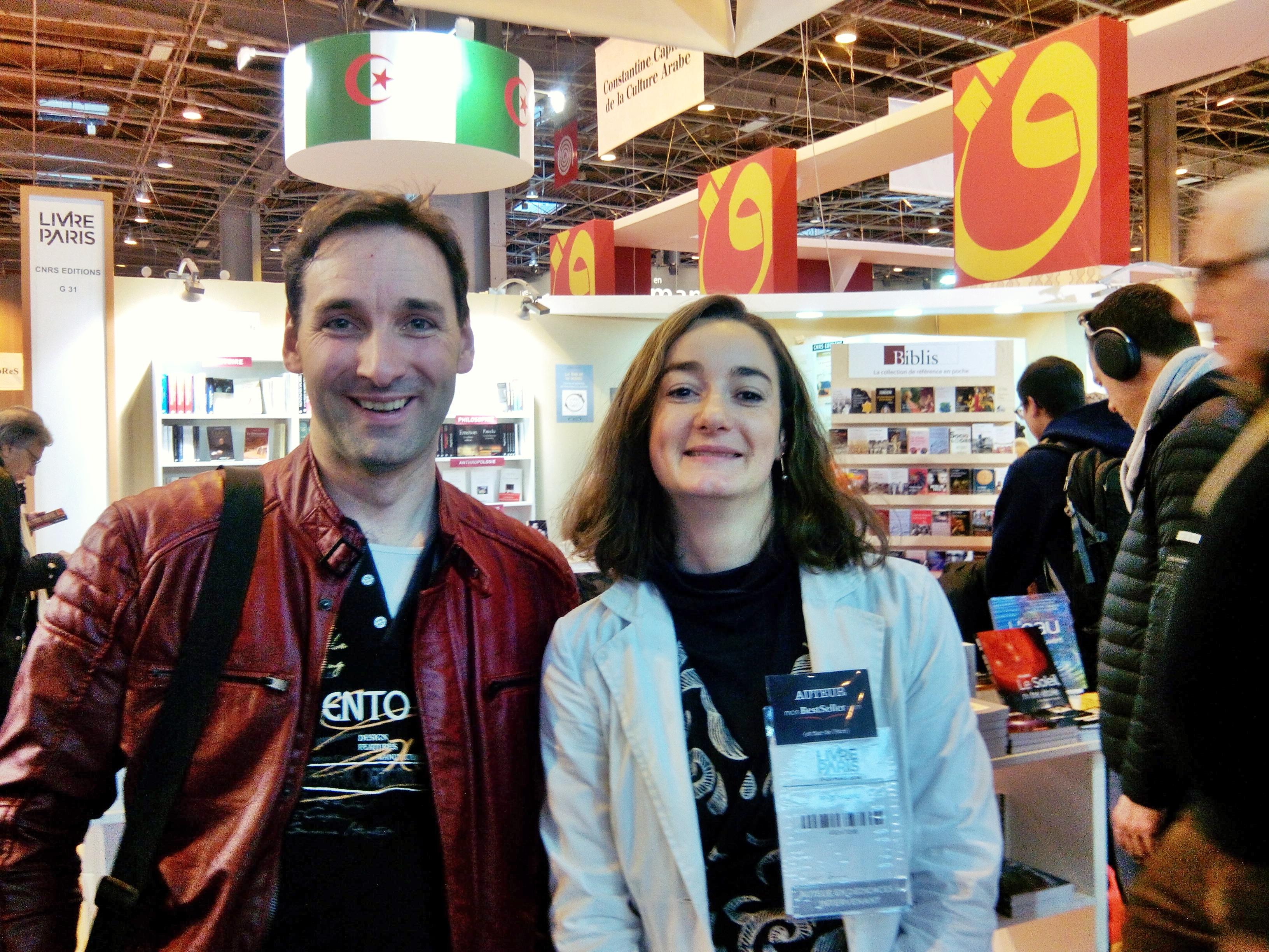 Marie Havard et Charles Edouard mandefield Livre Paris 2016