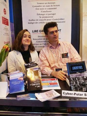 Marie Havard et Alain Kolb au salon du Livre Paris 2016