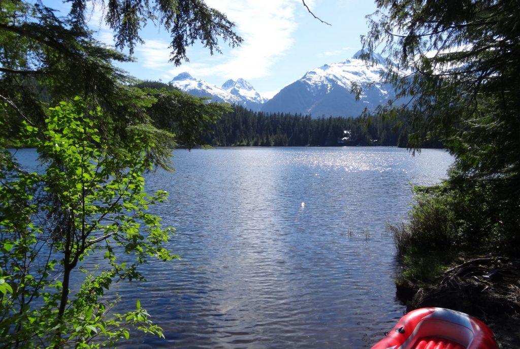 Camping sauvage à 2 h de Vancouver