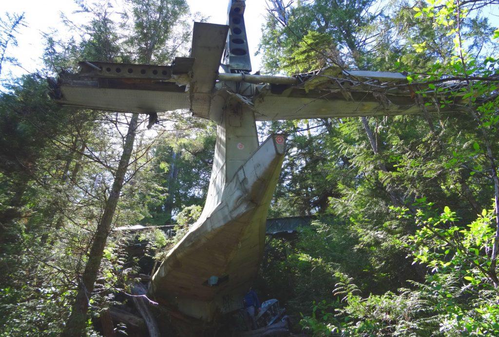 Plane Crash Site - Radar Hill, Tofino, Vancouver