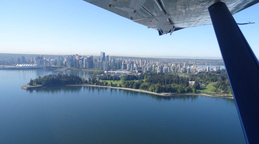 Vol en hydravion à Vancouver