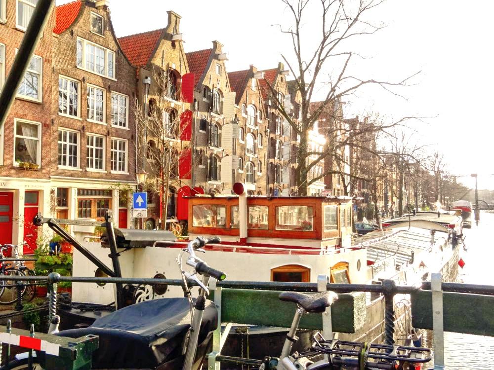 Amsterdam (Pays-Bas) en hiver