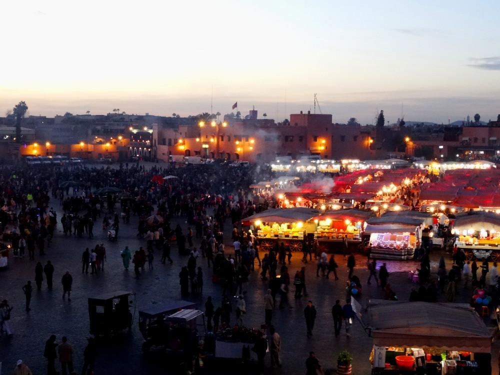 Place Jaama el Fna Marrakech