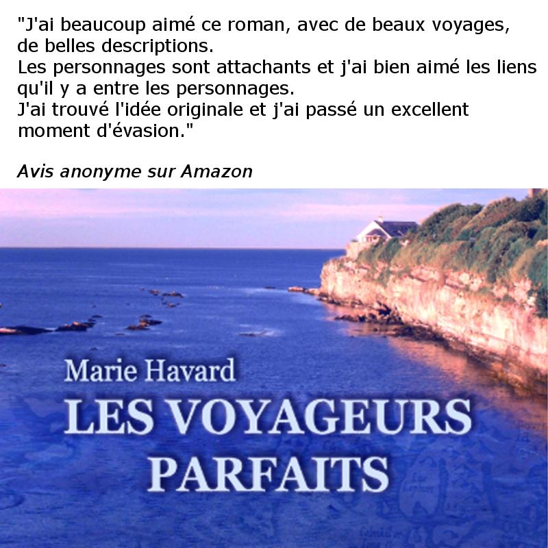 Avis Voyageurs Parfaits de Marie Havard