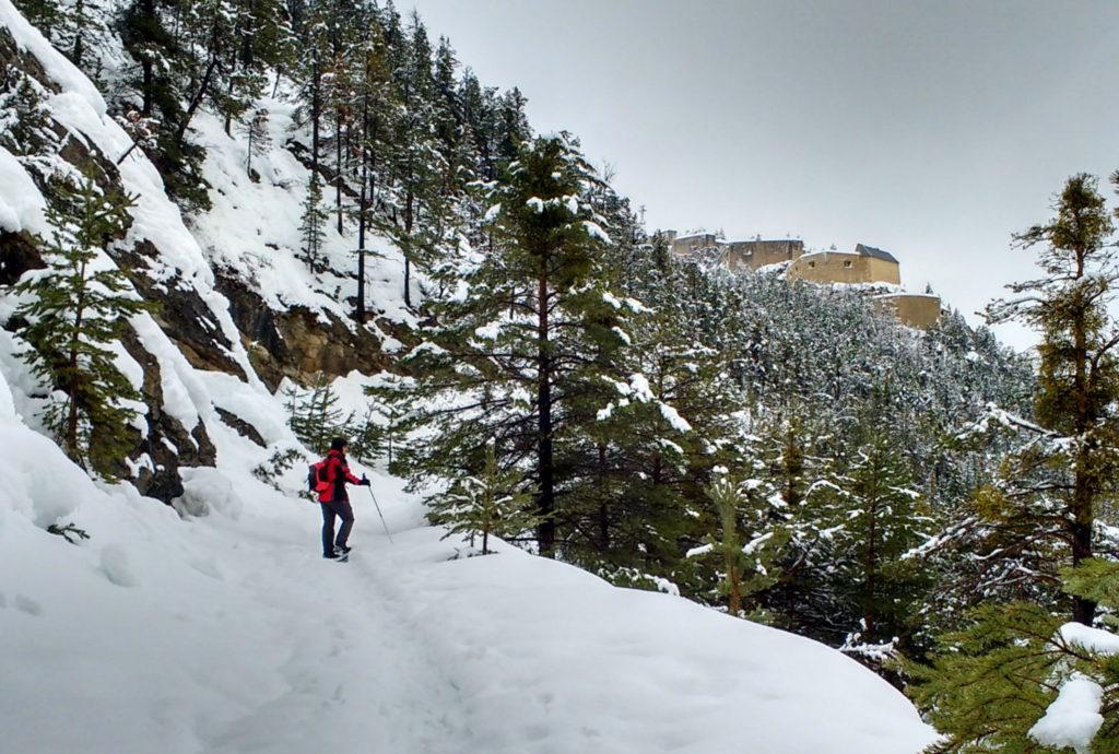 Montée au fort du Randouillet - Alpes