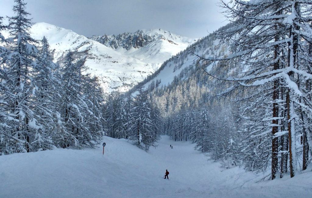 Piste de ski La Tabuc - Le-Monêtier-les-Bains