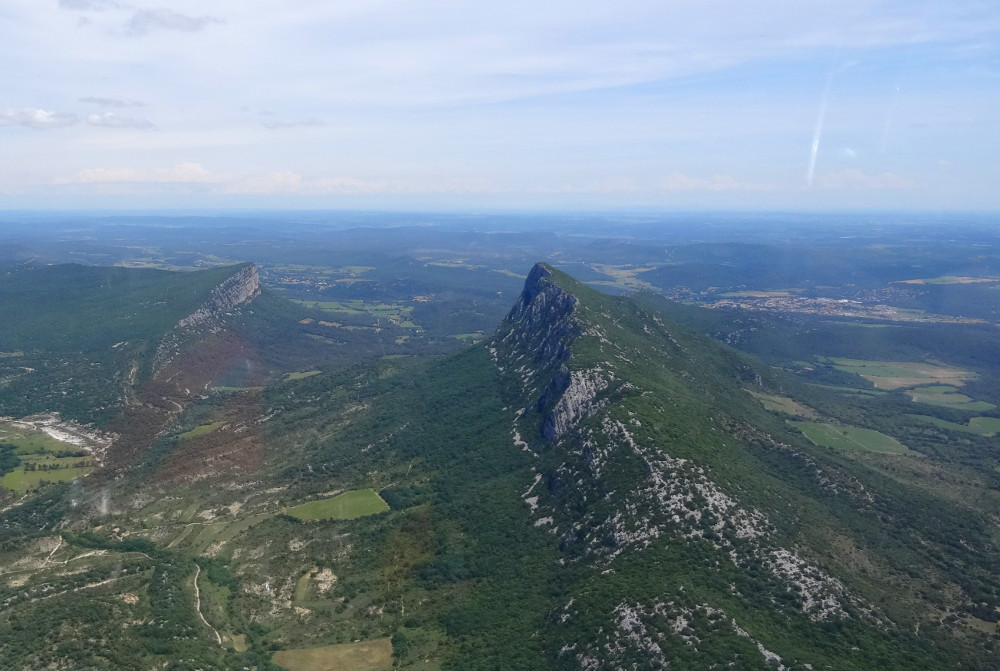 Vol planeur Pic Saint-Loup France