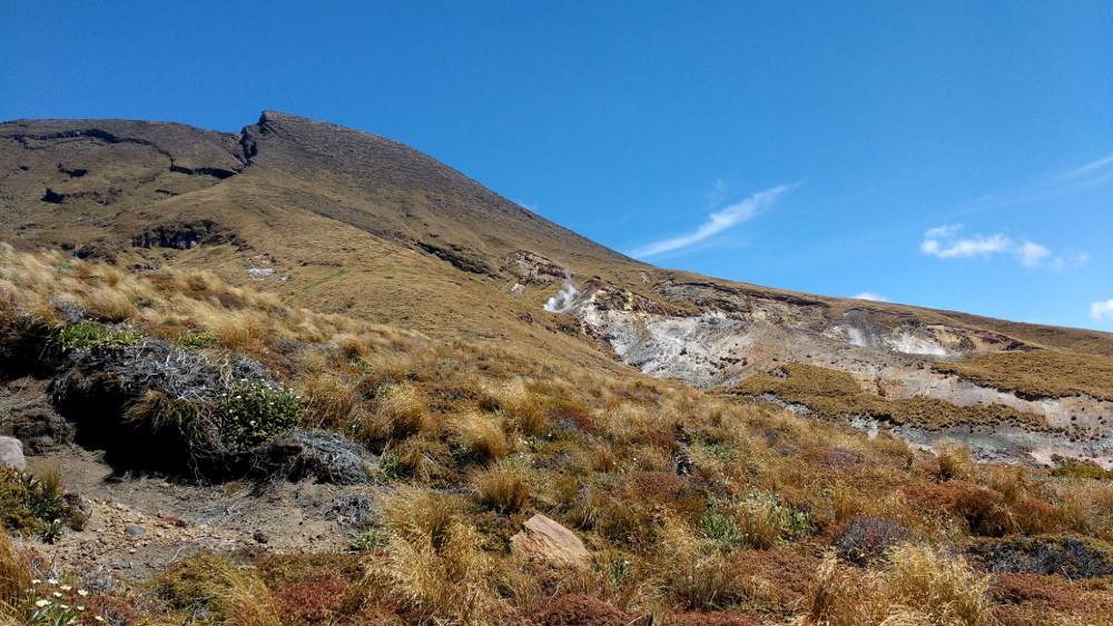 Tongariro Alpine Crossing : vallée de Ketetahi