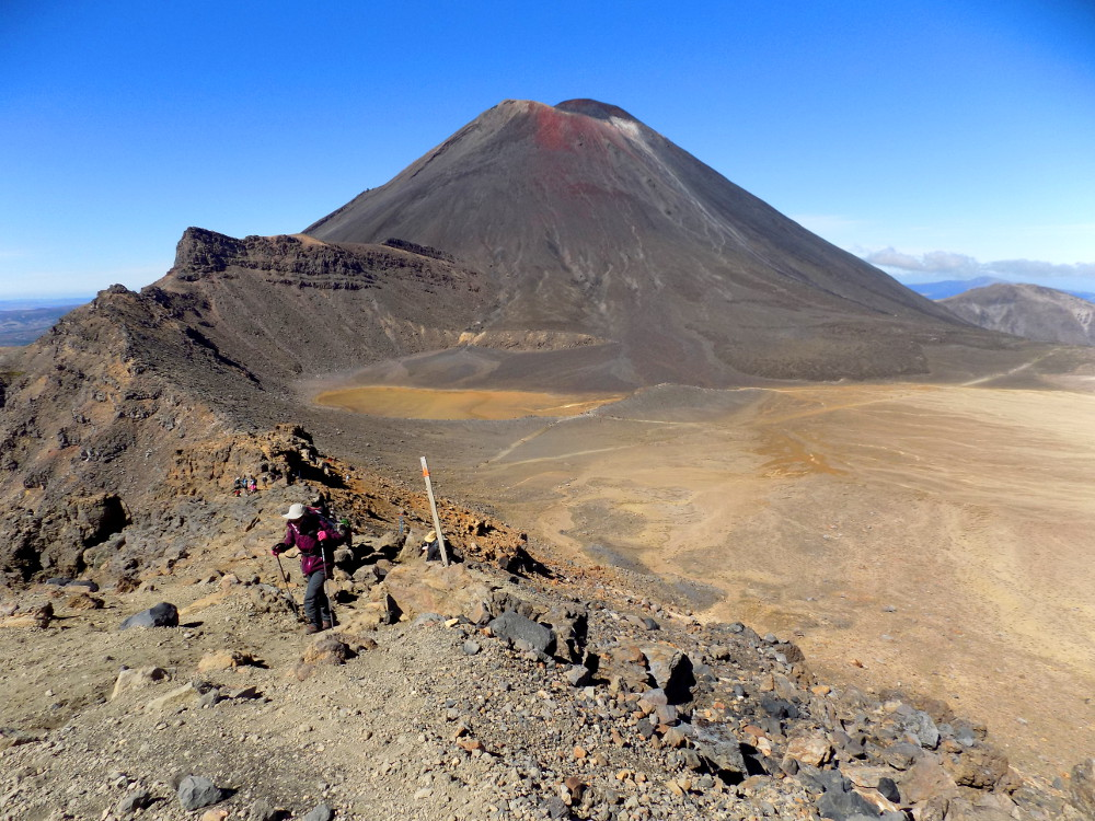 Tongariro Alpine Crossing : ascension du Red Crater