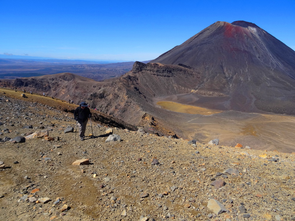 Tongariro Alpine Crossing : ascension du Mont Tongariro