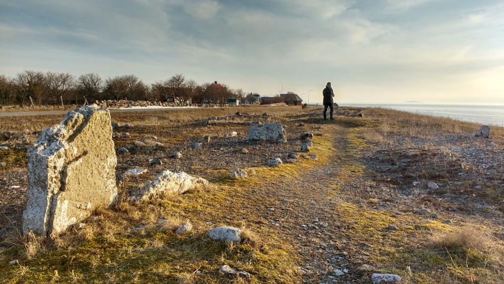 Les champs de Neptune, « Neptuni Akrar », Öland, Suède