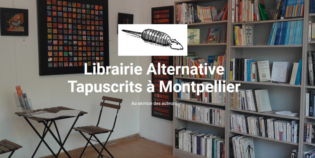 Librairie Tapuscrits Montpellier