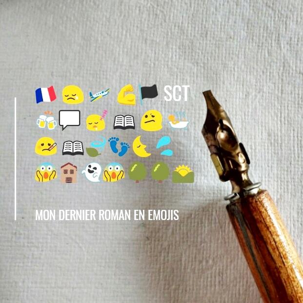 28 nuances de romancier : roman en emoji