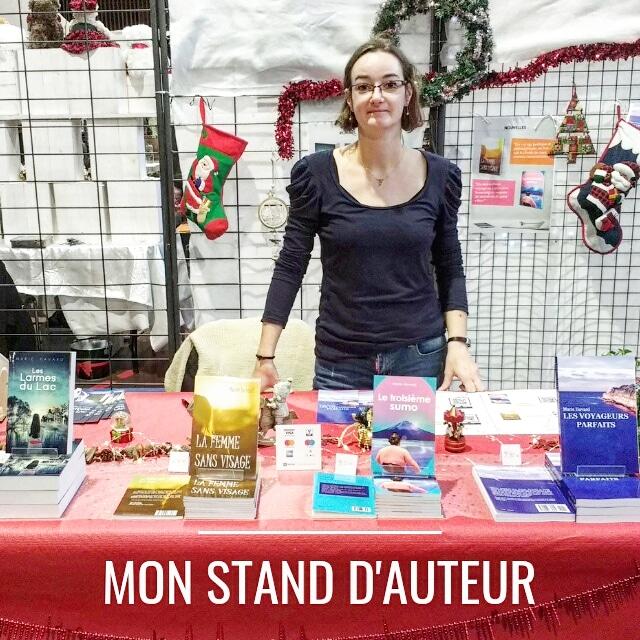 28 nuances de romanciers : mon stand d'auteur