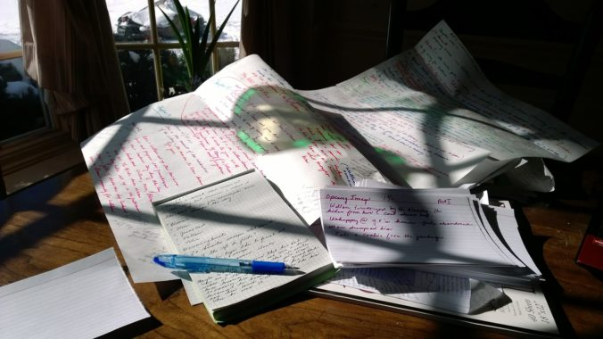 Ecriture : structurer son histoire