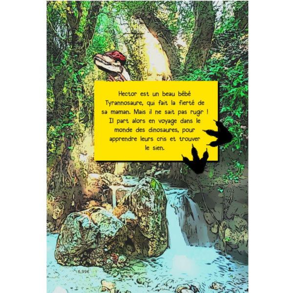 Hector le Tyrannosaure, livre enfant, Marie Havard