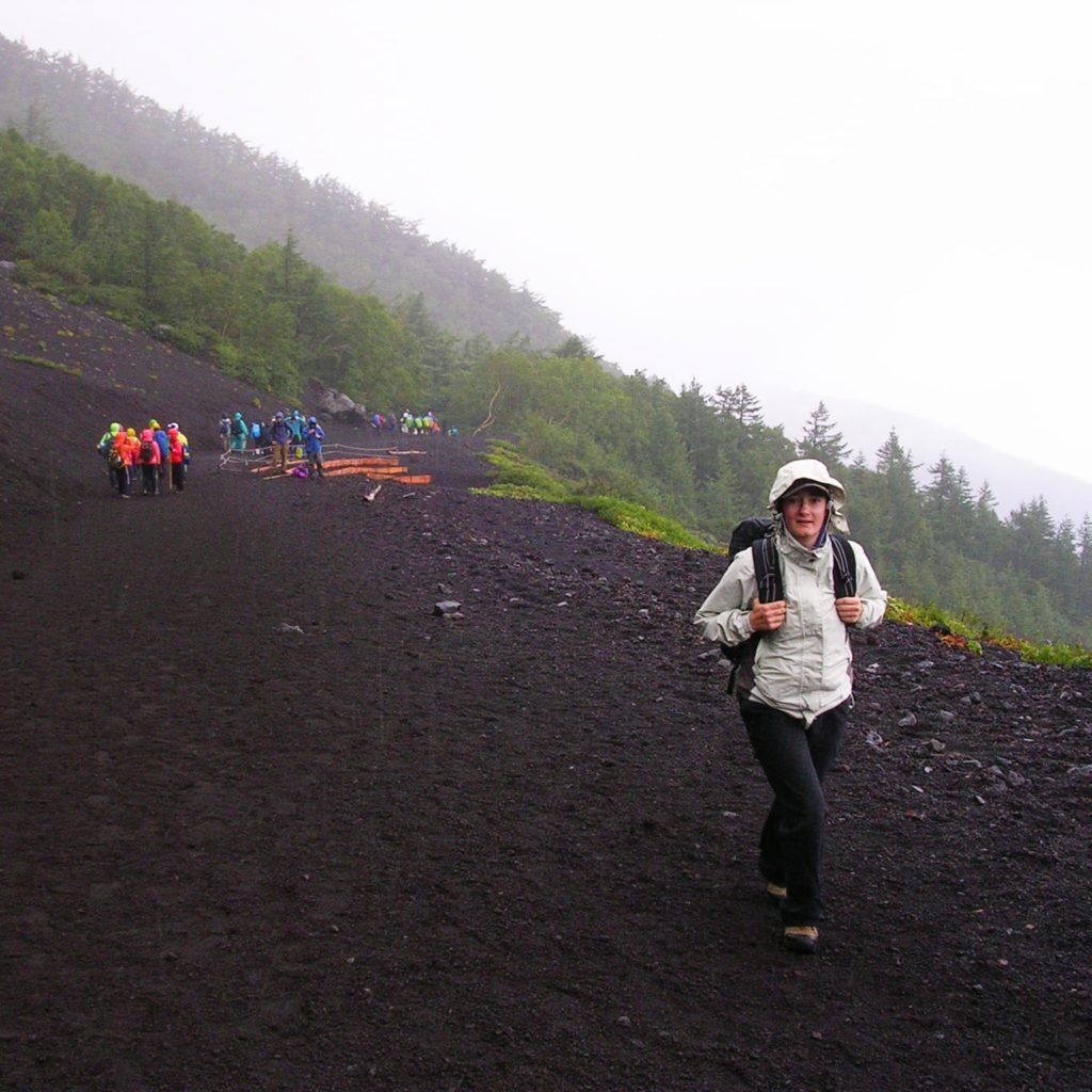 ascension du Mont Fuji Japon