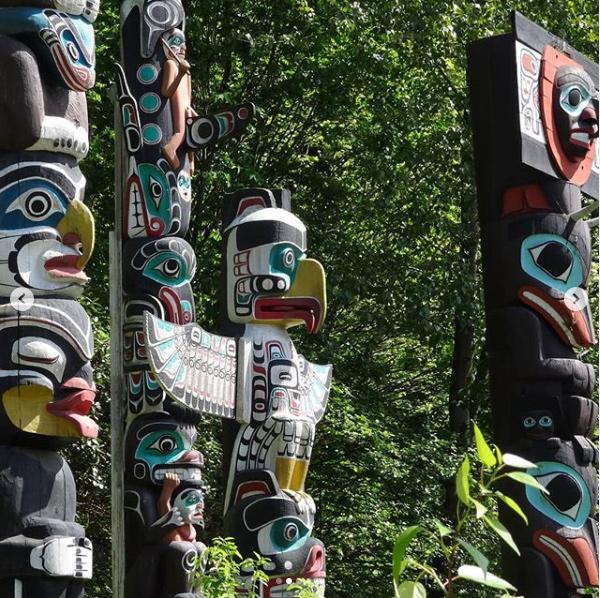 Totems à Vancouver