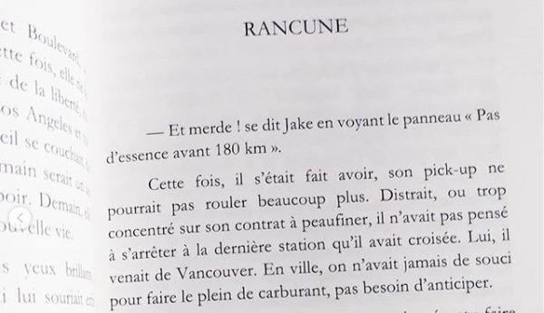 Rancune - nouvelle de Marie Havard