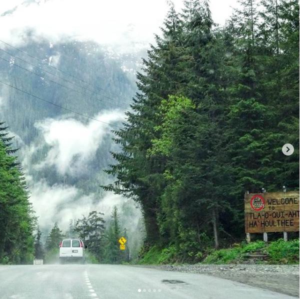 Ile de Vancouver - route