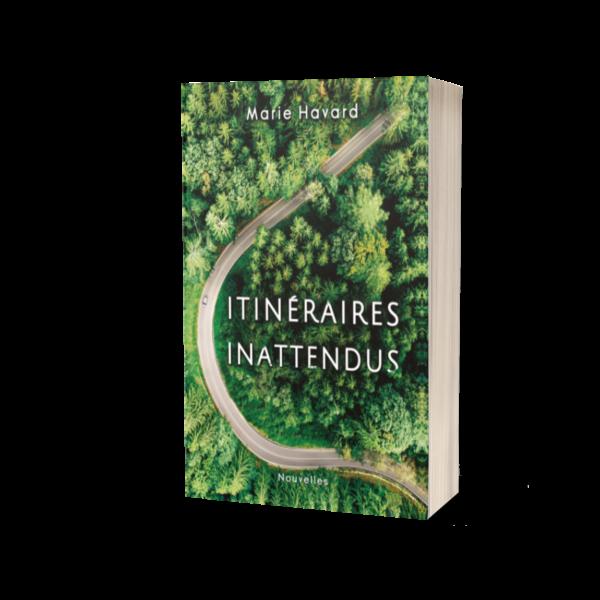 Couverture Itinéraires Inattendus - livre