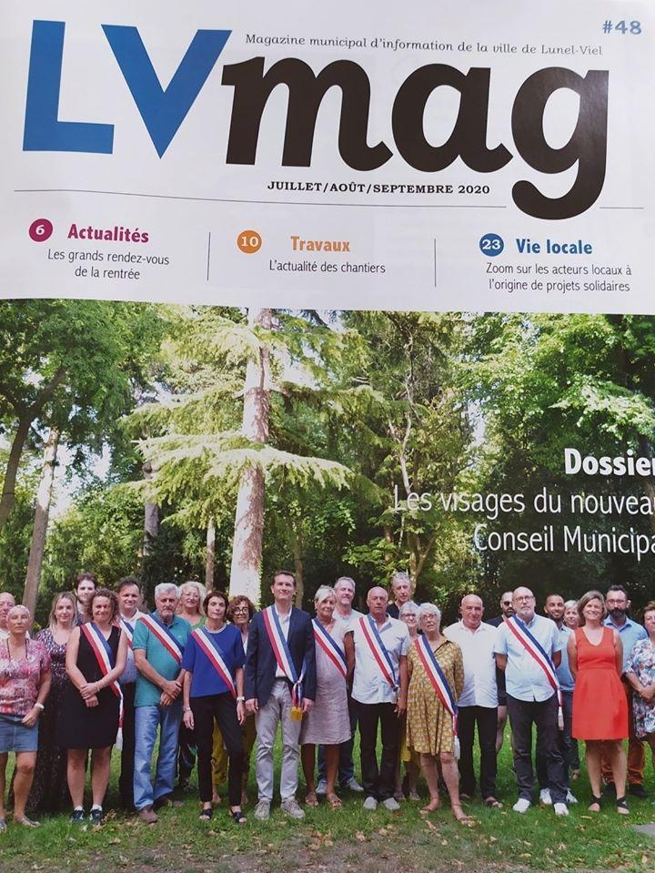 Lunel Viel Magazine juillet 2020