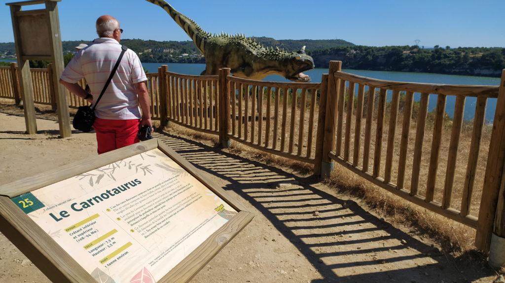 Carnotaurus - Parc dinosaures Istres