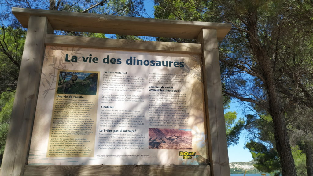 Contenus pédagogiques - parc dinosaures Istres