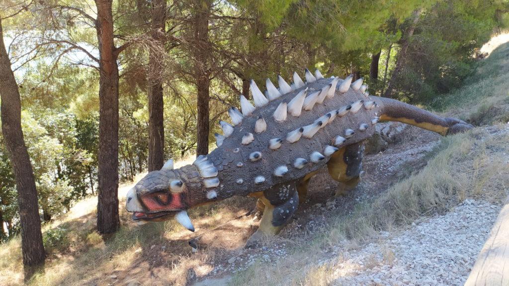 Ankylosaure - Parc dinosaures Istres