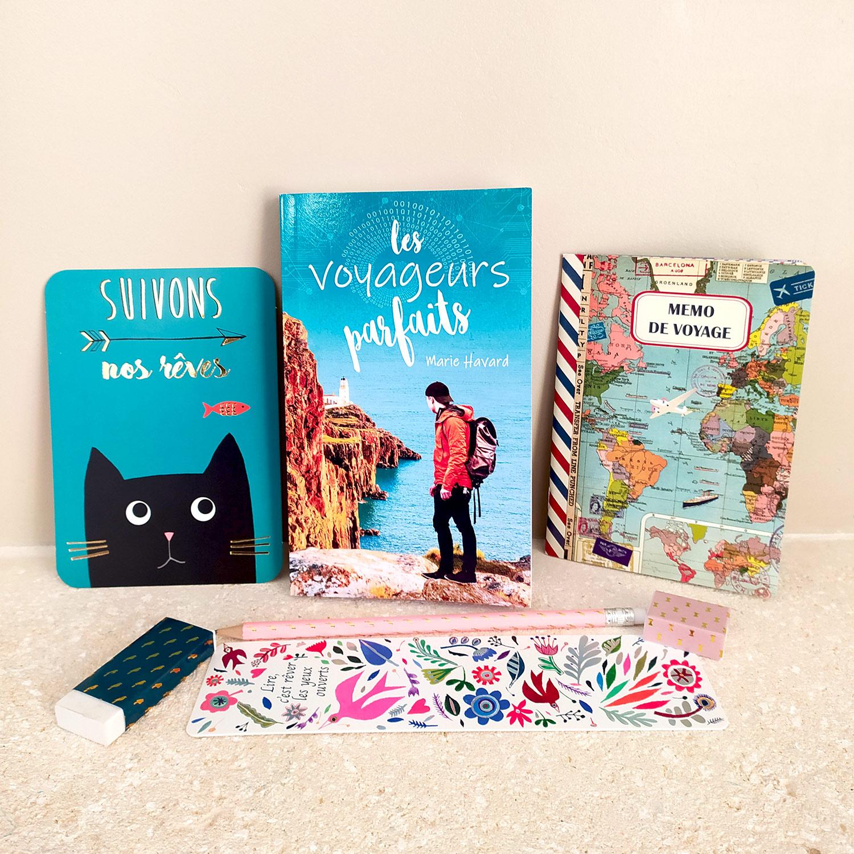 box cadeau livre et papeterie - idée cadeau littéraire