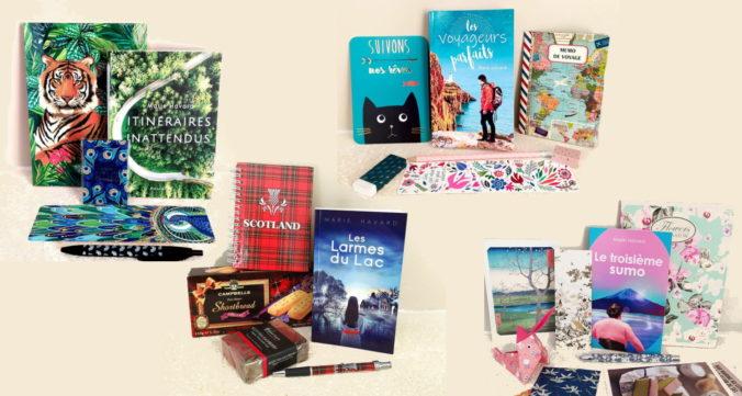 coffret livre - box littéraire thématique - idée cadeau lecture