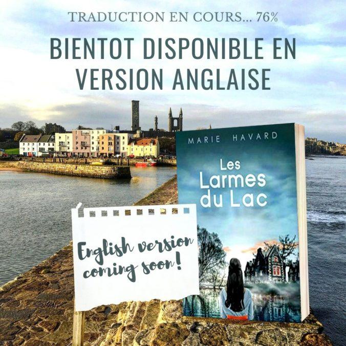 Les Larmes du Lac - version anglaise
